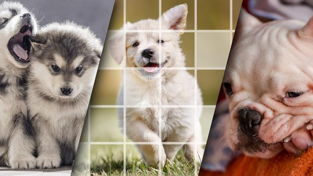 Lovely Puppy Puzzle Kit & Wallpapers screenshot 7
