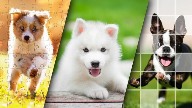 Lovely Puppy Puzzle Kit & Wallpapers screenshot 4