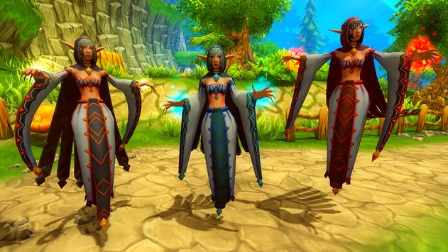 Elemental Sorceress Simulator screenshot 2