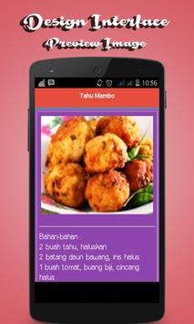 Aneka Resep Tahu apk screenshot