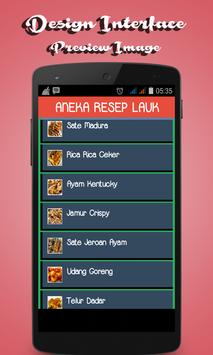 Aneka Resep Lauk screenshot 1