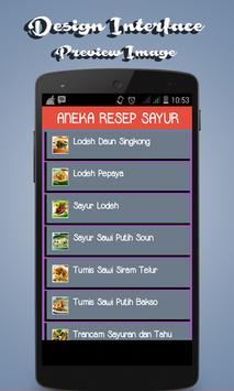 Aneka Resep Sayur screenshot 1
