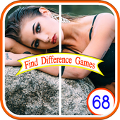 Difference pictures game icon