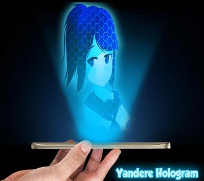 Hologram 3D Joke for Yandere apk screenshot