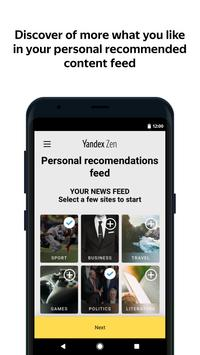 Zen: personalized stories feed poster