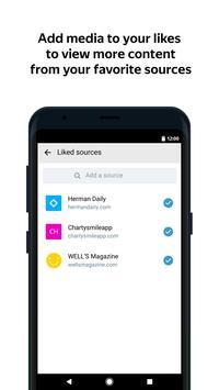 Яндекс.Дзен — интересные статьи, видео и новости скриншот приложения