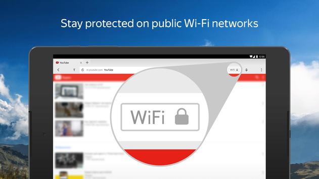 Yandex Browser with Protect apk screenshot