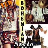 Bohemian Style Clothing and Accessories icon