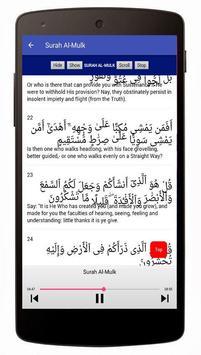 Surah Al-Mulk Mp3 Offline screenshot 3