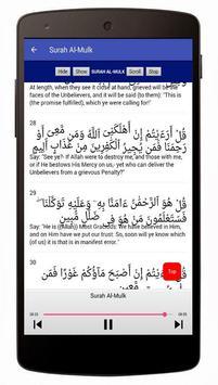 Surah Al-Mulk Mp3 Offline screenshot 4