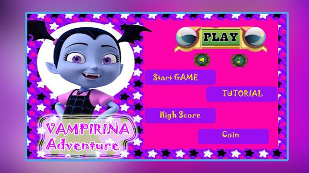 Amazing Vampirina Jungle Games poster