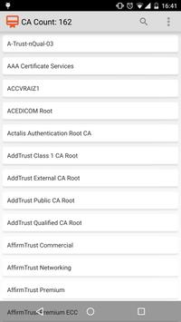 CA Certificates on Android poster