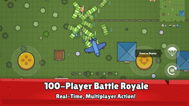 ZombsRoyale.io - 2D Battle Royale captura de pantalla 7