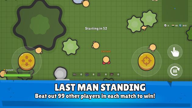 ZombsRoyale.io - 2D Battle Royale captura de pantalla 2