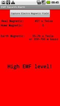 EMF Hazards Detector screenshot 3
