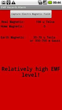 EMF Hazards Detector screenshot 2