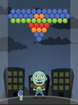 Zombie Bubble Pop poster