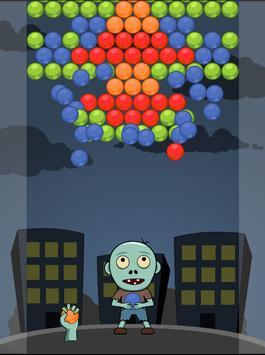 Zombie Bubble Pop apk screenshot