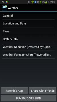 Weather Daydream - Free apk screenshot