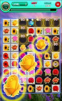 Blossom Flower Garden Match 3 poster