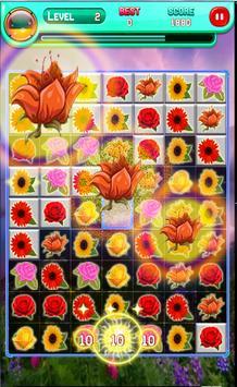 Blossom Flower Garden Match 3 apk screenshot