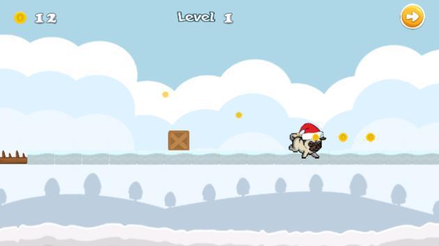 Christmas Pug apk screenshot