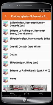 Enrique Iglesias Lyrics apk screenshot