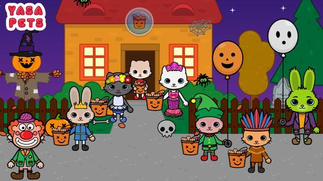 Yasa Pets Halloween تصوير الشاشة 16