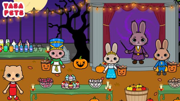 Yasa Pets Halloween تصوير الشاشة 4