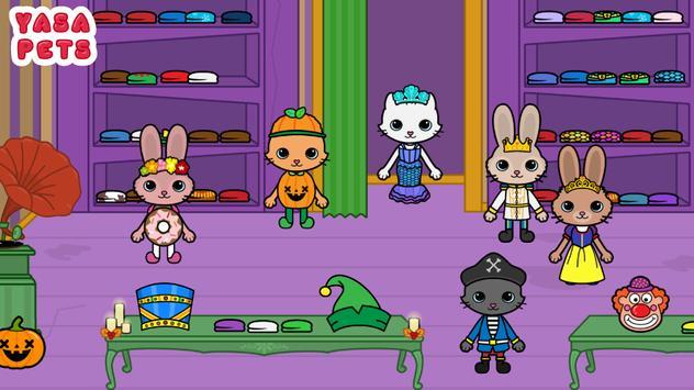 Yasa Pets Halloween تصوير الشاشة 5