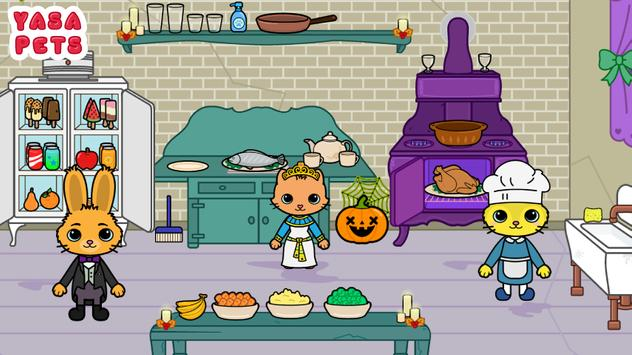 Yasa Pets Halloween تصوير الشاشة 6