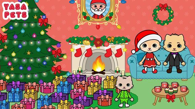 Yasa Pets Christmas الملصق