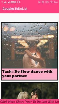 Couples To-Do List apk screenshot