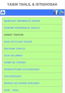Yasin Tahlil Istighosah For Android Apk Download