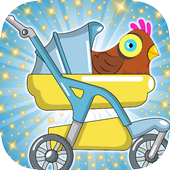 Super Animal Adventure Squad chicken icon