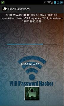 Wifi Password Hacker prank apk screenshot