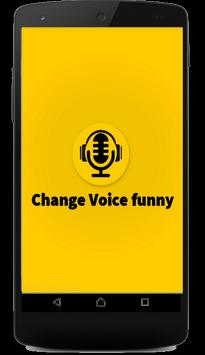 Change Voice Funny poster