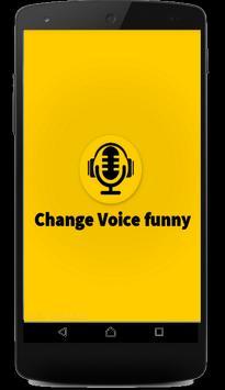 Change Voice Funny apk screenshot