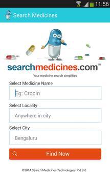 Search Medicines apk screenshot