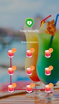 Applock Theme For Cocktail poster
