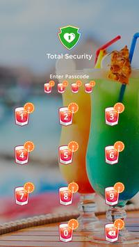 Applock Theme For Cocktail screenshot 1