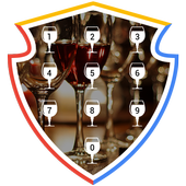 Wine Party Applock Theme icon