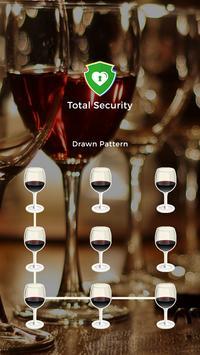 Wine Party Applock Theme poster