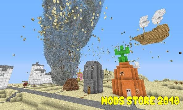 Mod Tornado for Minecraft PE poster