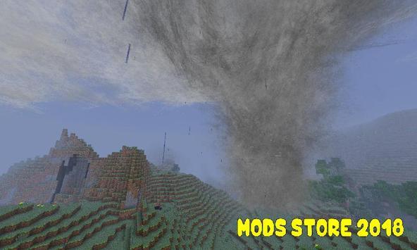 Mod Tornado for Minecraft PE screenshot 1