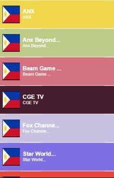 Philippines Channels Info screenshot 1