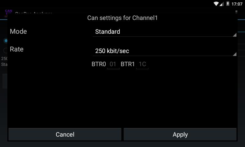 CanBus Analyzer for Android - APK Download