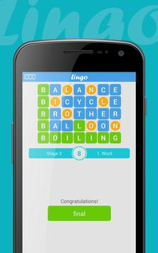 Lingo English apk screenshot
