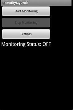 RemotifyMyDroid apk screenshot