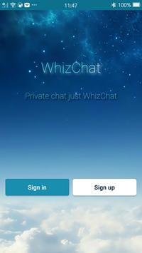 Whizchat poster